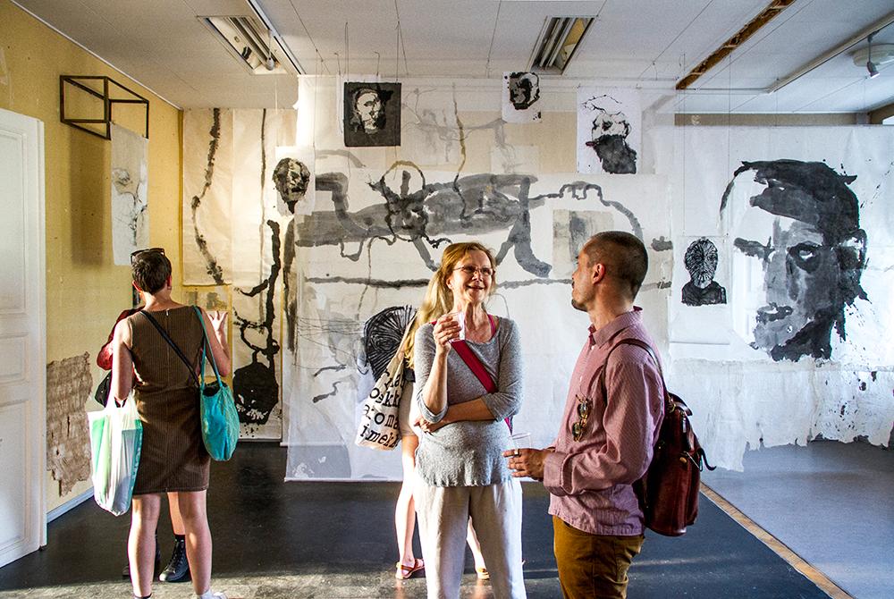 Galleria Lapinlahti avajaiset kesäkuussa 2016